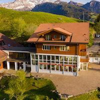 House Chalet external view Z Aeschiried
